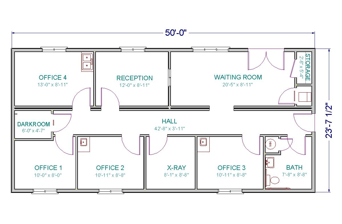 Medical Office - Floor Plan - Pennfair Office Park