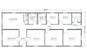 Office-Control Center Floor Plan