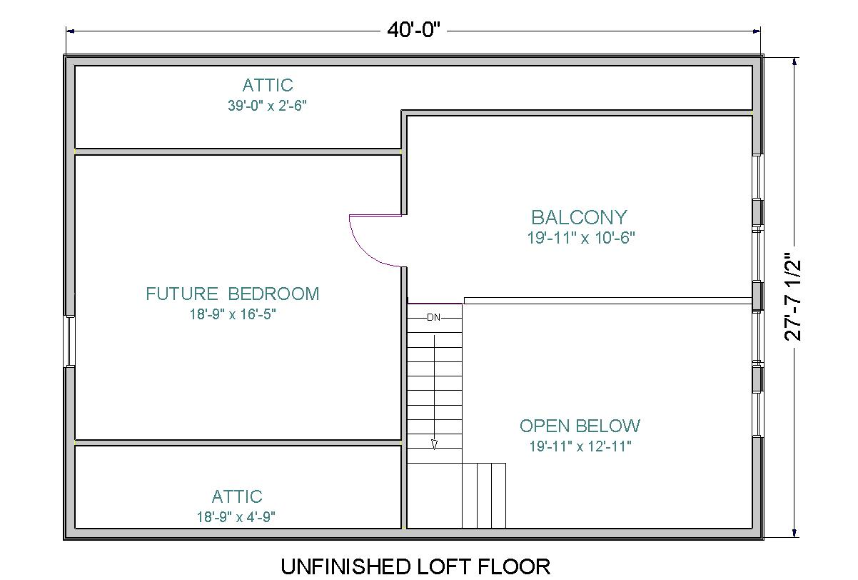 Modular home with loft floor plans Home plan