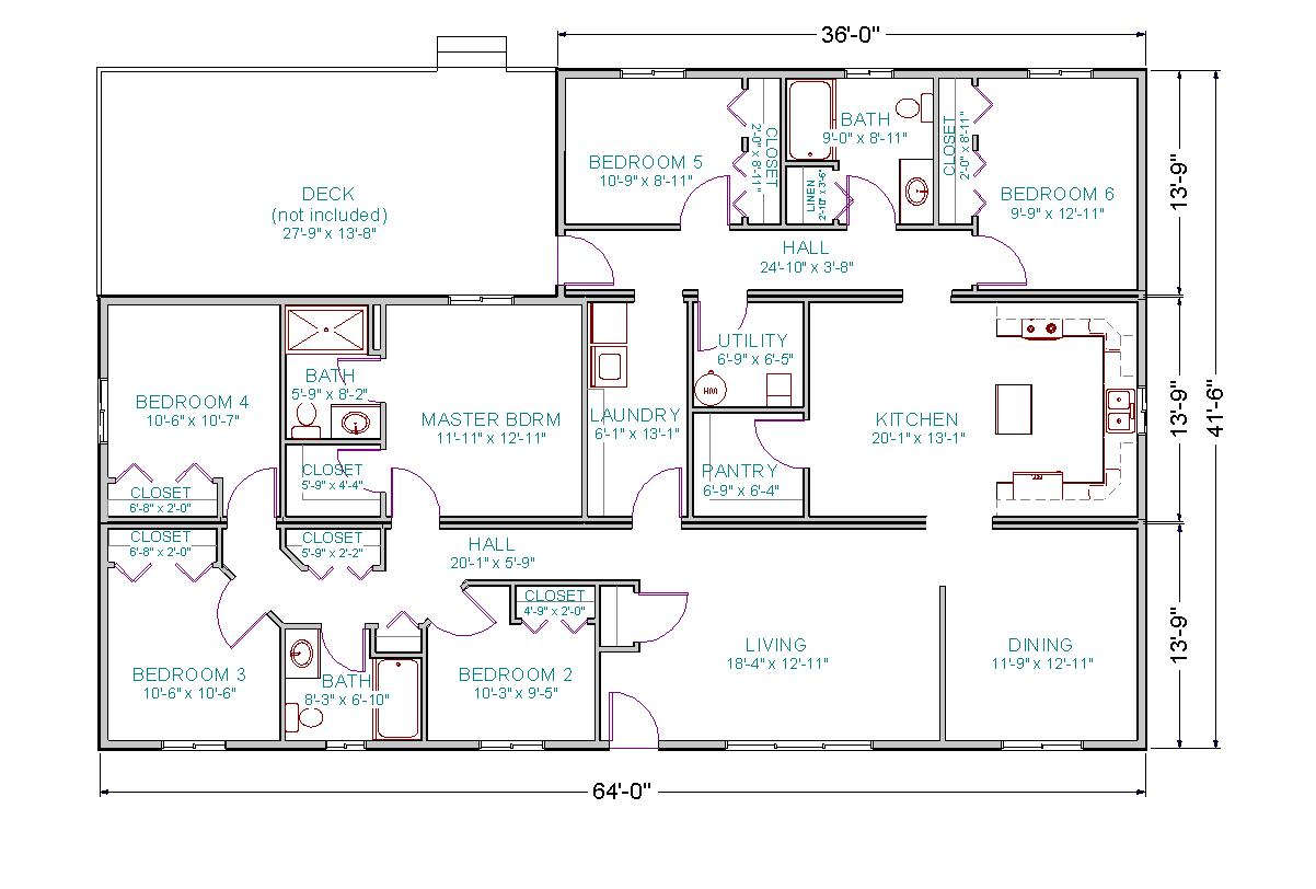 brady bunch house floor plan - photo #7