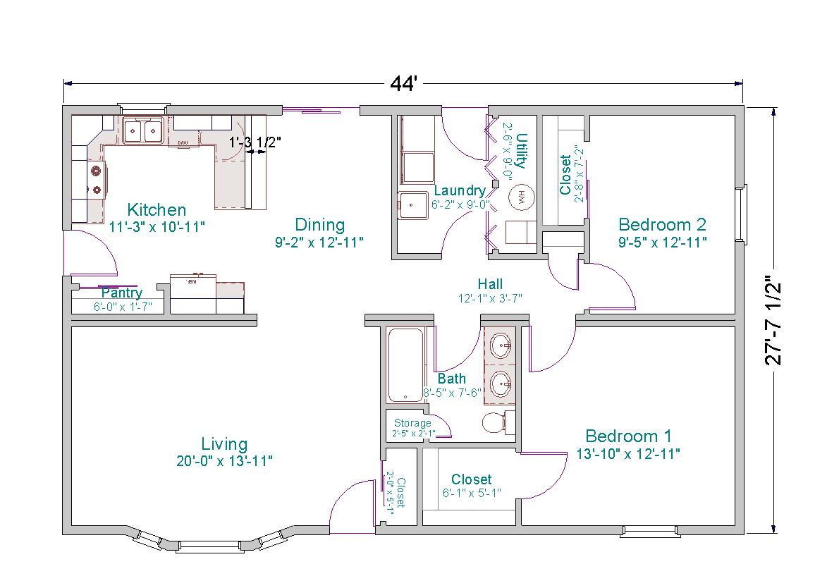 Free home plans square floor plans for Rectangle house plans