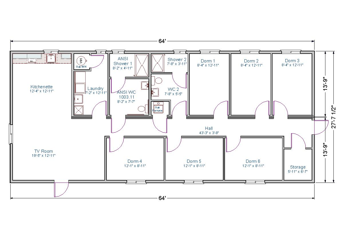 Bunkhouse tlc modular homes - Room layout planner free ...