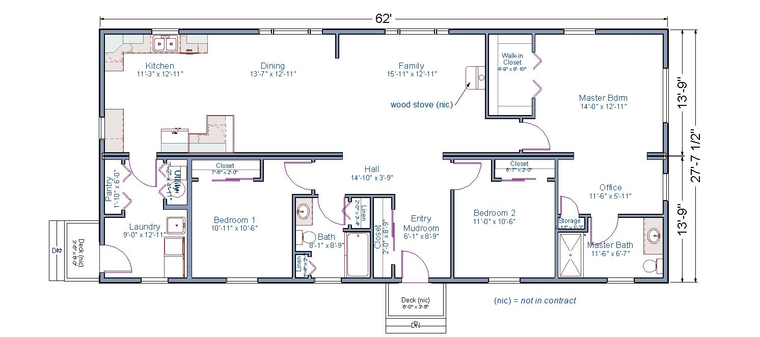 Modular home plans with 2 master suites for Modular home floor plans with two master suites