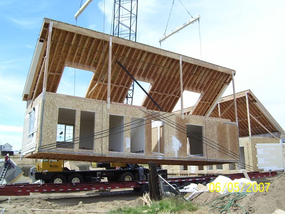 Modular cape cod placement tlc modular homes - How are modular homes built ...