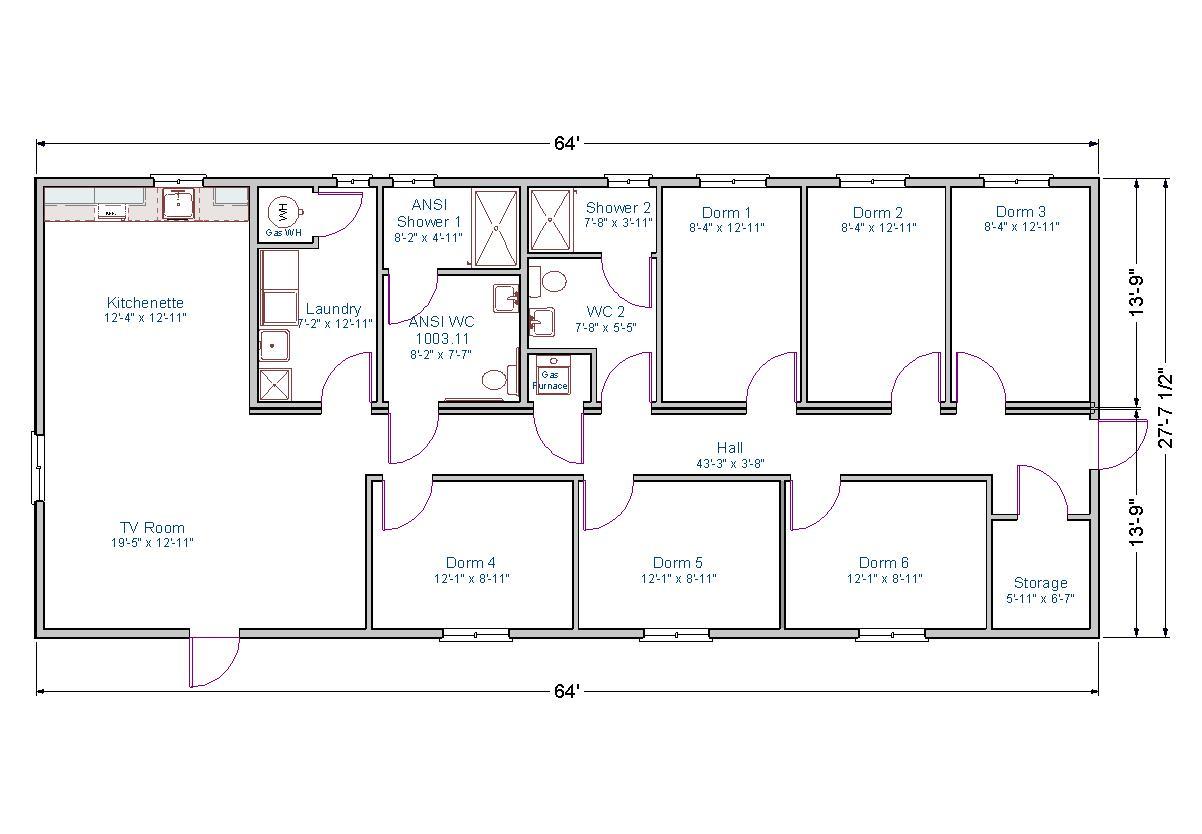Bunkhouse | TLC Modular Homes